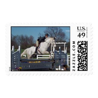 Hunter Jumper  Postage Stamp
