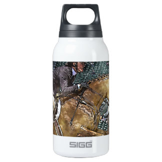 Hunter Jumper 10 Oz Insulated SIGG Thermos Water Bottle