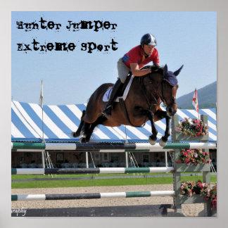 Hunter JumperExtreme Sport Poster