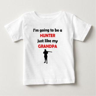 Hunter Like My Grandpa Baby T-Shirt