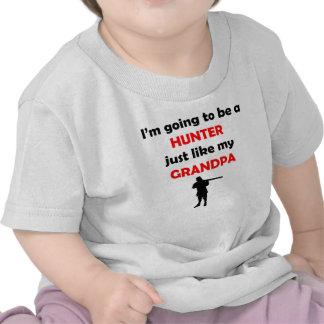 Hunter Like My Grandpa T-shirts