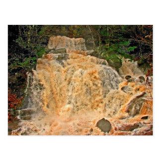 Hunter Mountain Waterfall Postcard
