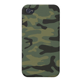 Hunter or Military style green camo Case For iPhone 4