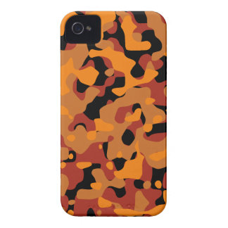 Hunter Orange Camouflage Case-Mate iPhone 4 Case