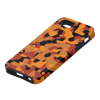 Hunter Orange Camouflage iPhone SE/5/5s Case