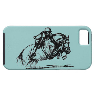 Hunter Over Fences iPhone 5 iPhone SE/5/5s Case
