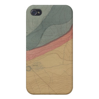 Hunter Park Special Sheet Atlas Map iPhone 4/4S Case