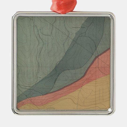 Hunter Park Special Sheet Atlas Map Metal Ornament