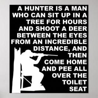 Hunter Pee Poster