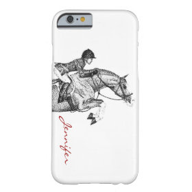 Hunter Pony Pointillism Barely There iPhone 6 Case