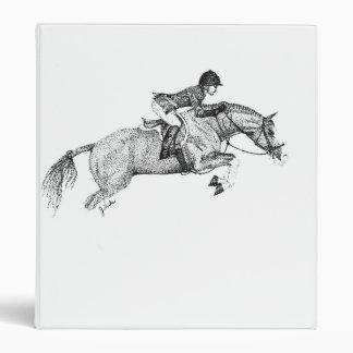 Hunter Pony Pointillism Binders