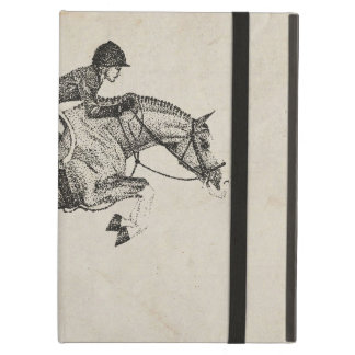 Hunter Pony Pointillism Cover For iPad Air