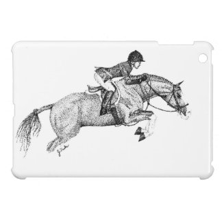 Hunter Pony Pointillism iPad Mini Case
