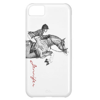 Hunter Pony Pointillism iPhone 5C Covers