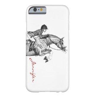 Hunter Pony Pointillism iPhone 6 Case