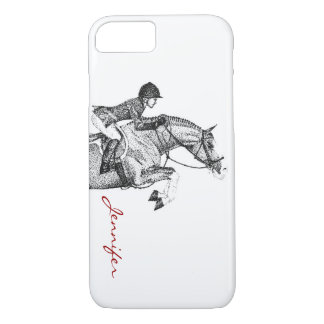 Hunter Pony Pointillism iPhone 7 Case
