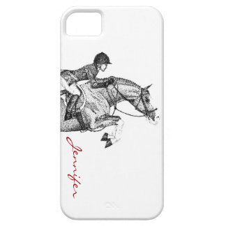 Hunter Pony Pointillism iPhone SE/5/5s Case