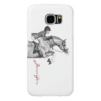 Hunter Pony Pointillism Samsung Galaxy S6 Case