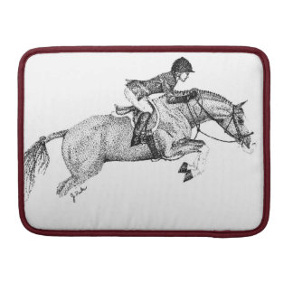 Hunter Pony Pointillism Sleeve For MacBooks