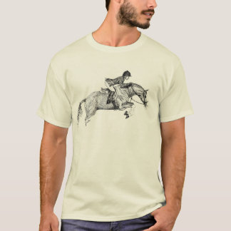 Hunter Pony Pointillism T-Shirt