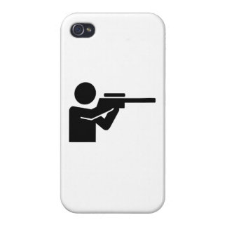 Hunter rifle covers for iPhone 4