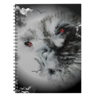 Hunter s Moon - Eyes of the Cat Notebook
