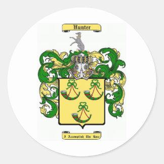 Hunter (scottish) classic round sticker