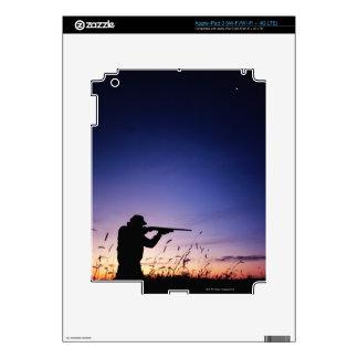 Hunter Silhouette Skins For iPad 3