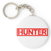 Hunter Stamp Keychain