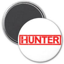 Hunter Stamp Magnet