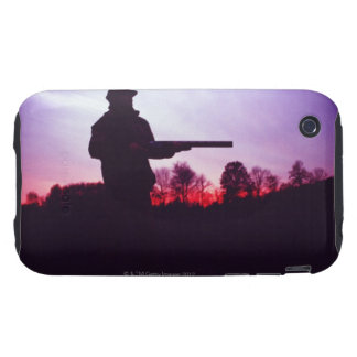 Hunter with Gun Tough iPhone 3 Cover