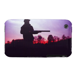 Hunter with Gun iPhone 3 Covers