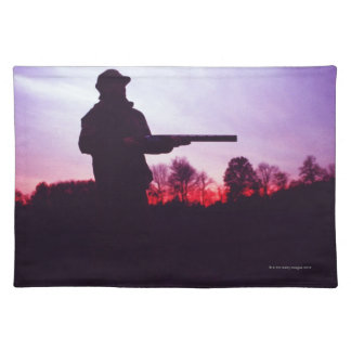 Hunter with Gun Cloth Placemat