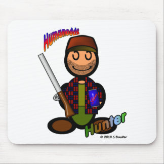 Hunter (with logos) mouse pad