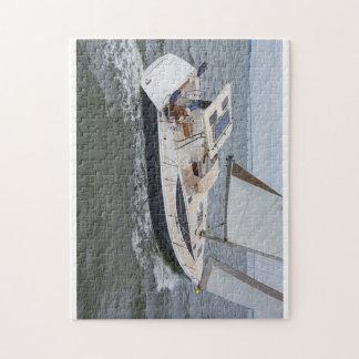 Hunter Yachts Jigsaw Puzzle Nautical Games