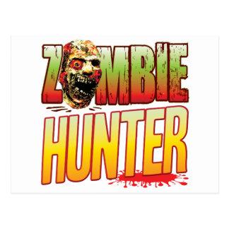 Hunter Zombie Head Postcard