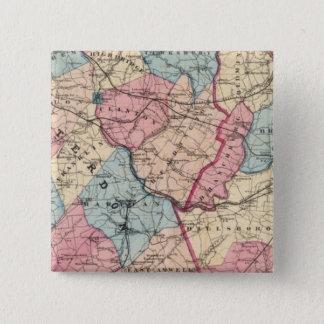 Hunterdon, Somerset Cos, NJ Button