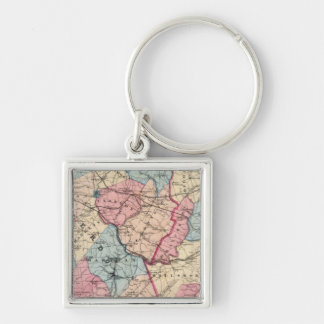 Hunterdon, Somerset Cos, NJ Keychain