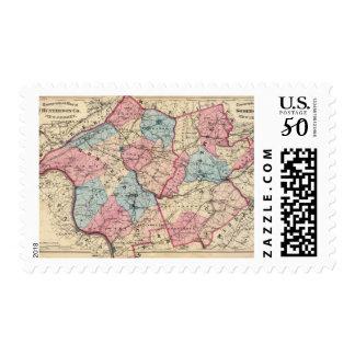 Hunterdon, Somerset Cos, NJ Postage