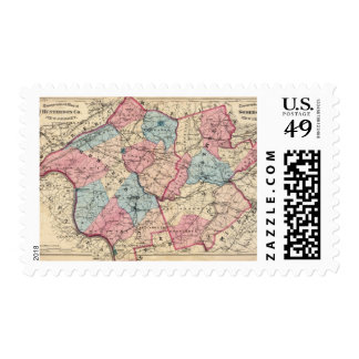 Hunterdon, Somerset Lechuga romana, NJ Sello Postal