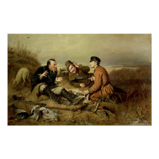 Hunters, 1816 poster