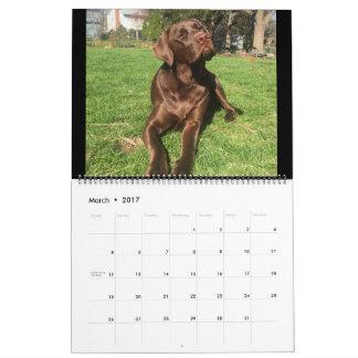 Hunter's Adventures 2017 Calendar