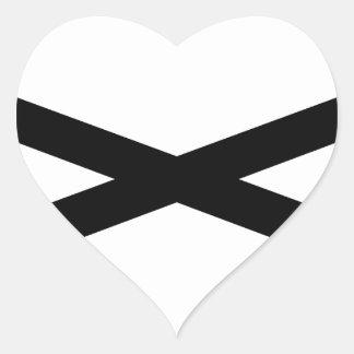 Hunter's Axe Heart Sticker