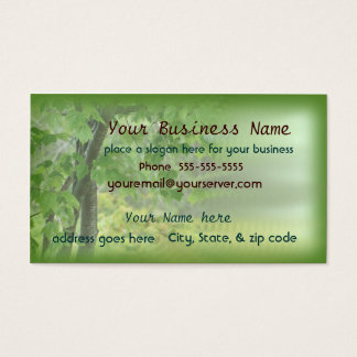 Hunters, Birdwatchers, Landscapers business card2 Business Card