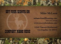 Camouflage business cards templates zazzle hunters camo business cards colourmoves