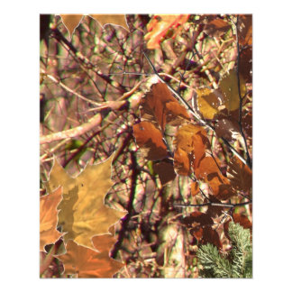 Hunter's Camo Camouflage Painting Customize This! Flyers