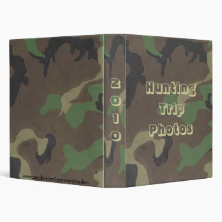 Hunter's Camo Design Avery Binder 1 EZD Touch Ring