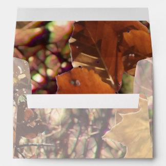 Hunter's Camouflage Painting Decor Envelopes