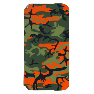 Hunters Camouflage Pattern iPhone 6/6s Wallet Case