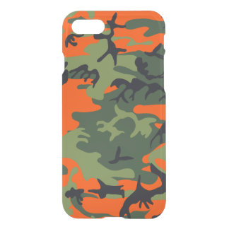 Hunters Camouflage Pattern iPhone 7 Case